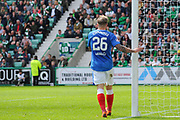 Former Hibs star is back at Easter Road for the Ladbrokes Scottish Premiership match between Hibernian and Rangers at Easter Road, Edinburgh, Scotland on 13 May 2018. Picture by Kevin Murray.