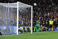 Football - 2019 / 2020 UEFA Champions League - Group H: Chelsea vs. Valencia CF<br /> <br /> Ross Barkley's penalty kick for Chelsea goes over the bar, at Stamford Bridge.<br /> <br /> COLORSPORT/ANDREW COWIE