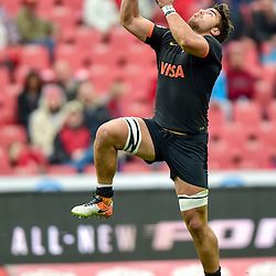 Johannesburg, SOUTH AFRICA, 21, MAY 2016 - during the Super Rugby match between Emirates Lions vs Jaguares ,Emirates Airlines Park,Johannesburg. Facundo Isa of the Jaguares. <br /> <br /> South Africa. (Photographer Christiaan Kotze ) -- (Steve Haag Sports) <br /> <br /> Images for social media must have consent from Steve Haag