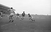 All Ireland Senior Football Championship Final, Kerry v Roscommon, Kerry 1-12 Roscommon 1-6, 23.09.1962, 09.23.1962, 23rd September 1962, 23091962AISFCF, .Roscommon in possession with a determined look which nearly broght results, ..Referee E Moules (Wicklow),.Captain Sg Sheehy,..