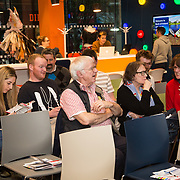 03.04.2017        <br /> Librarians at the Gluskman Library University of Limerick partnered with students of journalism at the University of Limerick to present a Limerick Lifelong Learning Festival talk on Fake News and How to Spot It at the Bank of Ireland Workbench. Picture: Alan Place.