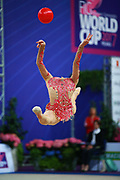 Carmen Whelan from Canada began gymnastics at age six. She is a very beautiful and elegant gymnast