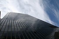 Skyscraper building in New York city