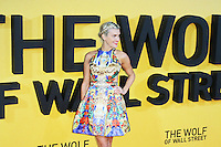 Ashley Roberts, The Wolf of Wall Street - UK film premiere, Odeon Leicester Square, London UK, 09 January 2014, Photo by Richard Goldschmidt