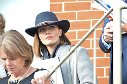 NEWBURY, ENGLAND 26TH NOVEMBER 2016: Victoria Pendleton at Hennessy Gold Cup meeting Newbury racecourse Newbury England. 26th November 2016. Photo by Dominic O'Neill