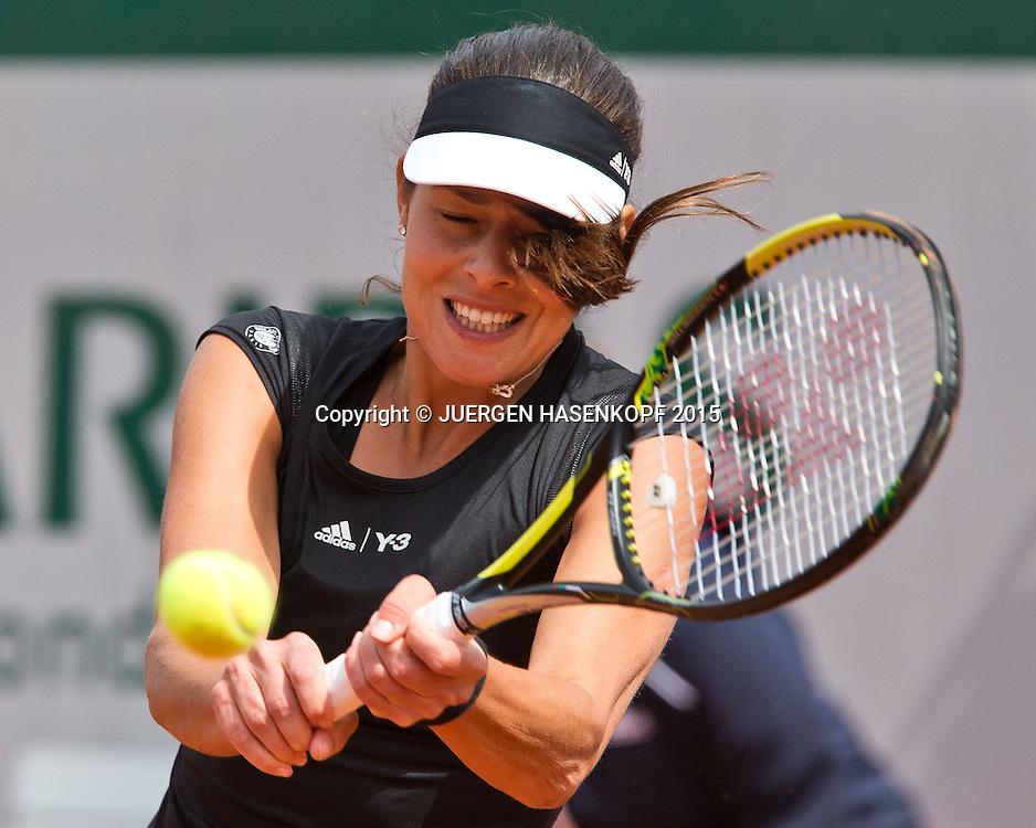 Ana Ivanovic (SRB)<br /> <br /> Tennis - French Open 2015 - Grand Slam ITF / ATP / WTA -  Roland Garros - Paris -  - France  - 29 May 2015.
