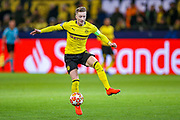 Borussia Dortmund forward Marco Reus (11) on the ball during the Champions League round of 16, leg 2 of 2 match between Borussia Dortmund and Tottenham Hotspur at Signal Iduna Park, Dortmund, Germany on 5 March 2019.