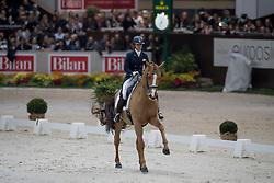Joannou Antonella, SUI, Dandy de la Roche CMF<br /> World Dressage Masters<br /> CHI de Genève 2016<br /> © Hippo Foto - Dirk Caremans<br /> 10/12/2016