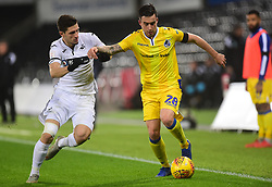 Michael Kelly of Bristol Rovers battles for the ball with Adnan Maric of Swansea City - Mandatory by-line: Alex James/JMP - 05/12/2018 - FOOTBALL - Liberty Stadium - Swansea, England - Swansea City U21 v Bristol Rovers - Checkatrade Trophy