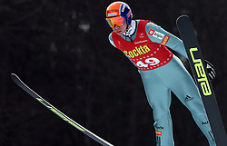 Primoz Roglic of SK Zagorje at Slovenian National Championship in Ski Jumping on February 12, 2008 in Kranj, Slovenia . (Photo by Vid Ponikvar / Sportal Images).
