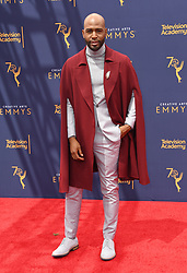 September 9, 2018 - Los Angeles, CA, U.S. - 09 September 2018 - Los Angeles, California - Karamo Brown. 2018 Creative Arts Emmy Awards - Arrivals held at Microsoft Theater. Photo Credit: Birdie Thompson/AdMedia (Credit Image: © Birdie Thompson/AdMedia via ZUMA Wire)