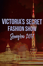 General view during the Victoria's Secret Fashion Show at the Mercedes-Benz Arena Shanghai in Shanghai, China on November 20, 2017.