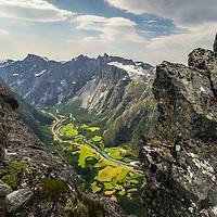 Romsdalen from Blånabba