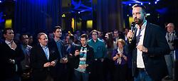 """12.04.2019, Palais Wertheim, Wien, AUT, ÖVP, """"Europa-Get-Together"""" der Jungen Österreichischen Volkspartei. im Bild JVP-Obmann und Nationalratsabgeordneter Stefan Schnöll // during get together of the Youth of the European People's Party regarding to Eurpean Parliment Elections of the Austrian People' s Party in Vienna, Austria on 2019/04/12. EXPA Pictures © 2019, PhotoCredit: EXPA/ Michael Gruber"""