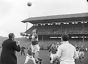 All Ireland Senior Football Championship Final, Kerry v Down, 25.09.1960, 09.25.1960, 25th September 1960, Down 2-10 Kerry 0-8, .Archbishop of Cashel Throws in the ball, .Referee J Dowling (Offaly),.Captain K Mussen,..