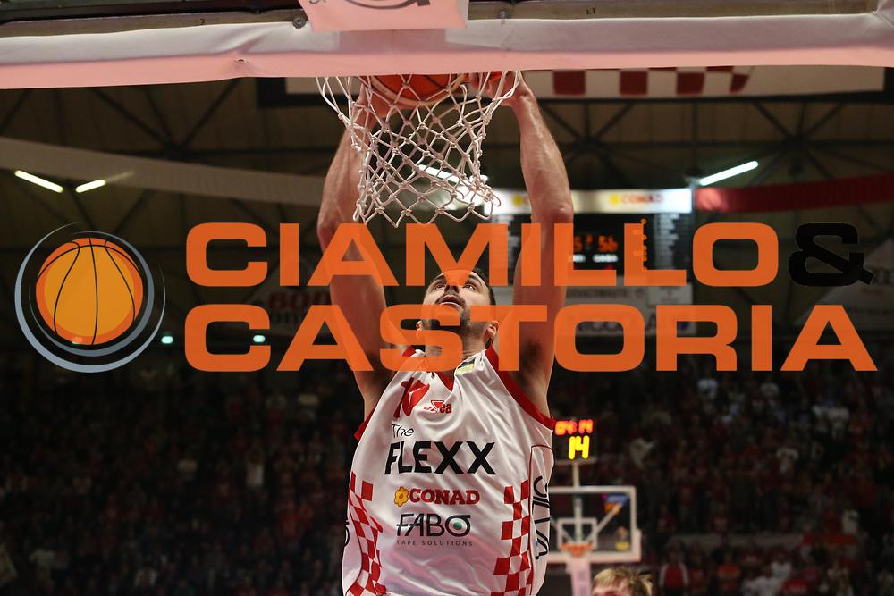 Gaspardo Raphael<br /> The Flexx Pistoia - VL Pesaro<br /> Lega Basket Serie A 2017/2018<br /> Pistoia, 09/12/2017<br /> Foto Ciamillo - Castoria