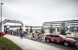 Start during cycling race 5th Grand Prix Adria Mobil, on April 7, 2019, in Cesca vas, Novo mesto, Slovenia. Photo by Vid Ponikvar / Sportida