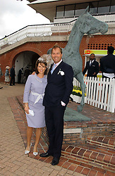 The HON.HARRY & MRS HERBERT at the 3rd day of the Glorious Goodrwood Racing festival 2006 - Ladies Day, at Goodwood Race course, West Sussex on 3rd August 2006.<br /><br />NON EXCLUSIVE - WORLD RIGHTS