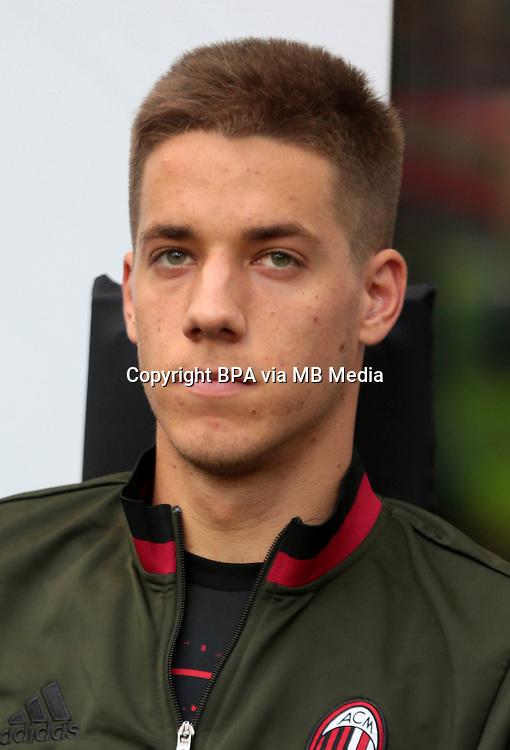 Italian League Serie A -2016-2017 / <br /> ( AC Milan  ) - <br /> Mario Pasalic