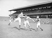 Neg No: .871/a1908-a1919...14081955AISFCSF...14.08.1955.All Ireland Senior Football Championship - Semi-Final..Kerry.2-10 Cavan.1-13..