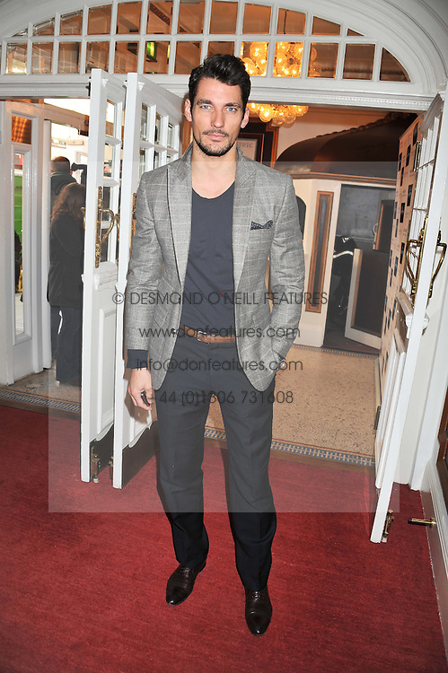DAVID GANDY at the Grand Classics screening of American Pie in association with Grey Goose vodka celebrating 100 years of Universal Pictures' Greatest films held at the Electric Cinema, Portobello Road, London on 30th April 2012.
