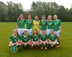 Republic of Ireland U16 v Northern Ireland.<br />Pic Conor McKeown