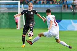 Luka Bobicanec of NS Mura during football match between NS Mura and NK Triglav Kranj in 1st Round of Prva liga Telekom Slovenije 2018/19, on July 21, 2018 in Mestni stadion Fazanerija, Murska Sobota , Slovenia. Photo by Mario Horvat / Sportida