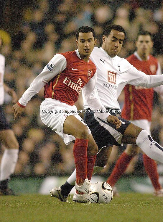 THEO WALCOTT (ENG) Arsenal, Carling Cup 1st Leg Semi Final 24/1/2007