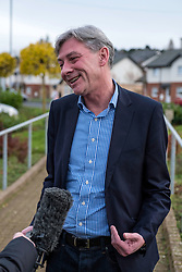 Richard Leonard being interviewed for TV  after winning Labour Party Leadership contest,