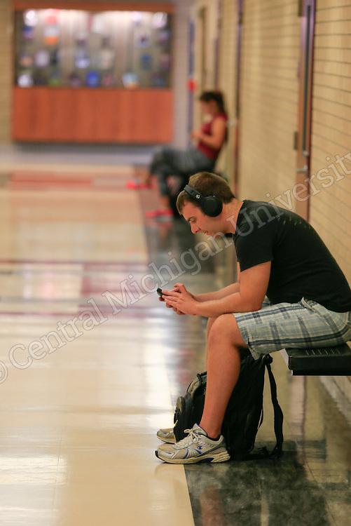 Fall semester classes begin Monday August 31, 2015. Photos by Steve Jessmore/Central Michigan University