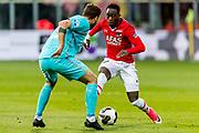 ALKMAAR - 22-04-2017, AZ - FC Twente, AFAS Stadion, FC Twente speler Mateusz Klich, AZ speler Ridgeciano Haps