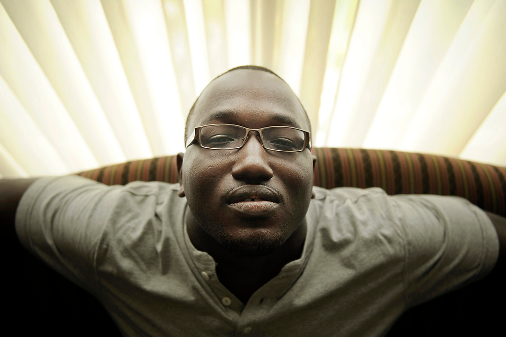 IRVINE, CA-May 13, 2011: Comedian Hannibal Buress on May 13, 2011.     (Mariah Tauger/ Los Angeles Times)