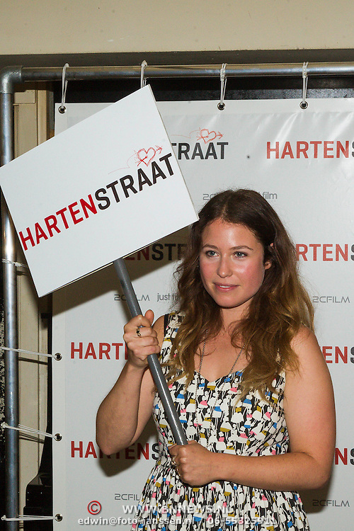 NLD/Amsterdam/20130906 - Perspresentatie cast Hartenstraat, Sanne Vogel