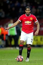 Antonio Valencia of Manchester United  - Photo mandatory by-line: Matt McNulty/JMP - Mobile: 07966 386802 - 16/02/2015 - SPORT - Football - Preston - Deepdale - Preston North End v Manchester United - FA Cup - Fifth Round