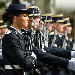 C&eacute;l&eacute;bration du 14 juillet, f&ecirc;te nationale fran&ccedil;aise, mettant &agrave; l'honneur en 2015 l'ordre de la Lib&eacute;ration et les forces arm&eacute;es mexicaines. Pr&eacute;paratifs et d&eacute;fil&eacute; militaire sur les Champs Elys&eacute;es devant le pr&eacute;sident de la R&eacute;publique.<br /> Juillet 2015/ Paris (75) / FRANCE<br /> Voir le reportage complet (217 photos) http://sandrachenugodefroy.photoshelter.com/gallery/2015-07-Defile-du-14-juillet-Complet/G0000piC2WfP46aE/C0000yuz5WpdBLSQ