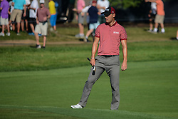August 9, 2018 - Town And Country, Missouri, U.S - MARTIN KAYMER from Germany lines up his putt on the 14th green during round one of the 100th PGA Championship on Thursday, August 8, 2018, held at Bellerive Country Club in Town and Country, MO (Photo credit Richard Ulreich / ZUMA Press) (Credit Image: © Richard Ulreich via ZUMA Wire)