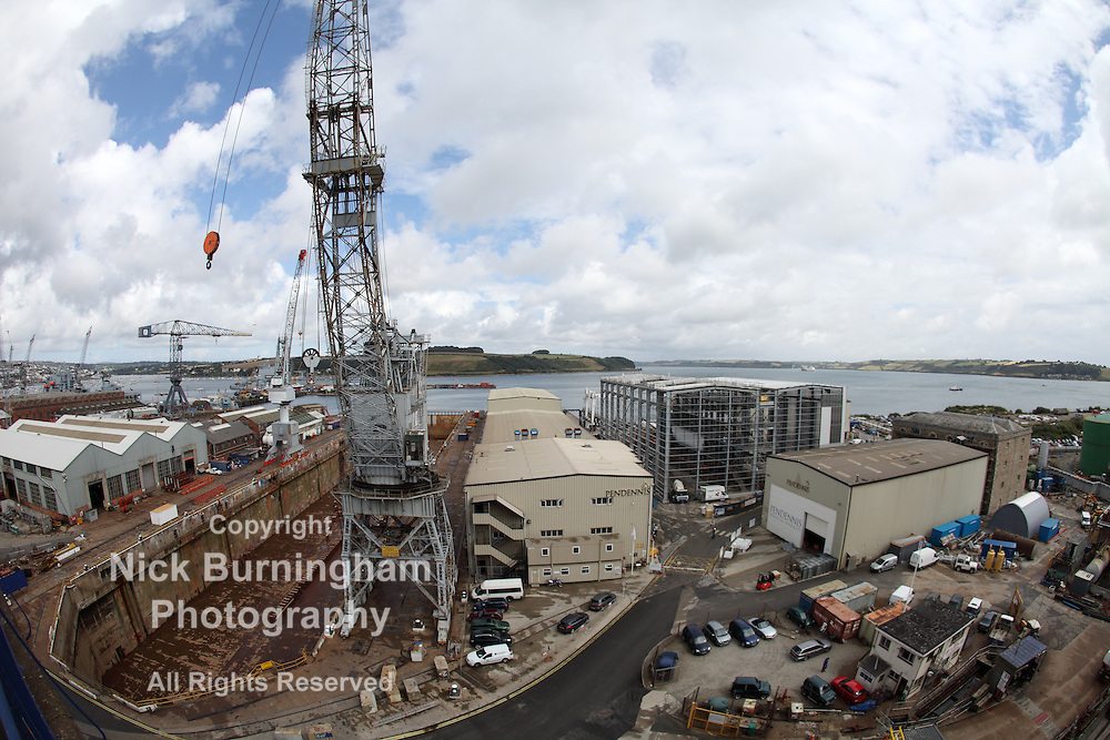 Falmouth Docks, Falmouth, England, 2013 - EDITORIAL USE ONLY