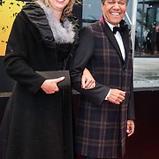 NLD/Amsterdam/20140508 - Wereldpremiere Musical Anne, Frank Sanders en Madeleine van der Zwaan