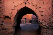 Archway, near Medinah, Marrakesh