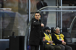 November 26, 2017 - Milan, Italy - vincenzo Montella head coach of AC Milan during Italian serie A match AC Milan vs Torino FC at San Siro Stadium  (Credit Image: © Gaetano Piazzolla/Pacific Press via ZUMA Wire)