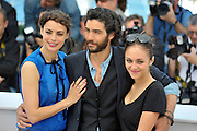 17.MAY.2013. CANNES<br /> <br /> PAULINE BURLEY. TAHAR RAHIM, ELYES AGUIS, JEANNE JESTIN AND BERENICE BEJO ATTEND THE 'LE PASSE' PHOTOCALL DURING THE 66TH ANNUAL CANNES FILM FESTIVAL AT THE PALAIS DES FESTIVALS<br /> <br /> BYLINE: EDBIMAGEARCHIVE.CO.UK<br /> <br /> *THIS IMAGE IS STRICTLY FOR UK NEWSPAPERS AND MAGAZINES ONLY*<br /> *FOR WORLD WIDE SALES AND WEB USE PLEASE CONTACT EDBIMAGEARCHIVE - 0208 954 5968*