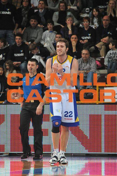 DESCRIZIONE : Verona Lega Basket A2 2010-11 Tezenis Verona Aget Imola<br /> GIOCATORE : Andrea Renzi <br /> SQUADRA : Tezenis Verona Aget Imola<br /> EVENTO : Campionato Lega A2 2010-2011<br /> GARA : Tezenis Verona Aget Imola<br /> DATA : 05/03/2011<br /> CATEGORIA : Delusione<br /> SPORT : Pallacanestro <br /> AUTORE : Agenzia Ciamillo-Castoria/M.Gregolin<br /> Galleria : Lega Basket A2 2010-2011 <br /> Fotonotizia : Verona Lega A2 2010-11 Tezenis Verona Aget Imola<br /> Predefinita :