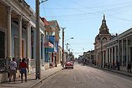 Street in Guantanamo city, Guantanamo, Cuba.