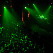 March 28, 2012 - New York, NY : British dubstep music producer  (DJ) 'Plastician'  performs at the Best Buy Theater in Manhattan on Wednesday evening. CREDIT: Karsten Moran for The New York Times