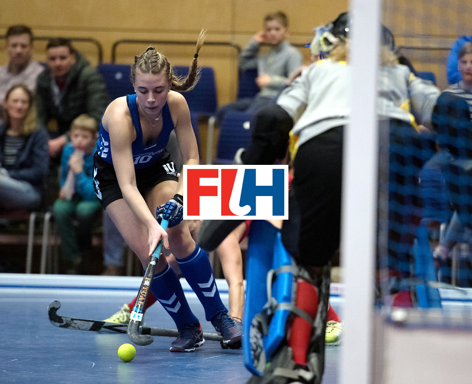 BERLIN - Indoor Hockey World Cup<br /> United States - Namibia<br /> foto: Sammy Popper <br /> WORLDSPORTPICS COPYRIGHT FRANK UIJLENBROEK