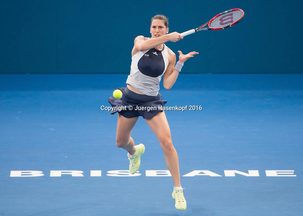 Andrea Petkovic (GER)<br /> <br /> Tennis - Brisbane International  2016 - WTA -  Queensland Tennis Centre - Brisbane - QLD - Australia  - 3 January 2016. <br /> &copy; Juergen Hasenkopf