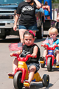 Fourth of July parade in Iowa