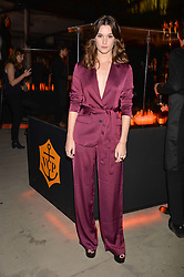 Sai Bennett at the Veuve Clicquot Widow Series launch party curated by Carine Roitfeld and CR Studio held at Islington Green, London England. 19 October 2017.