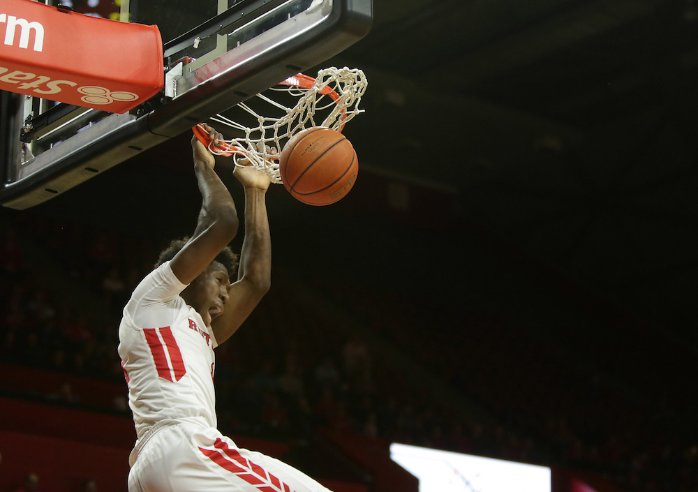 The Rutgers mens basketball game against Howard at the Rutgers Athletic Center. <br /> 11/15/15 Photo by John O&rsquo;Boyle