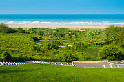 Omaha Beach from the American Cemetery, Colleville-sur-Mer, Normandy, France